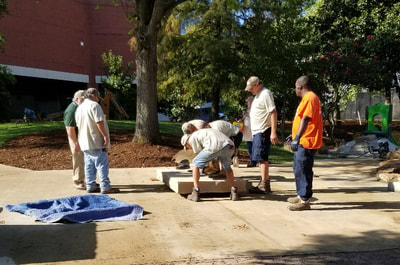 Update 8/28/2018: Our bronze Hippo #RoundBottomusHippopotamus by Tim Cherry Sculpture Designs has found its new home in Riverfront Park. Thanks Sculpture at the River Market and the City of Little Rock, AR #PublicArt #Bronze #Sculpture #Hippo #Bench #RiverfrontPark#LIttleRock #Art This is the National Sculptors' Guild's 499th monumental Public Art Placement!