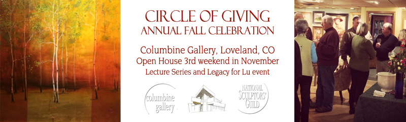 Circle of Giving Annual Fall Celebration third weekend in November Legacy for Lu and Lecture Series Open House