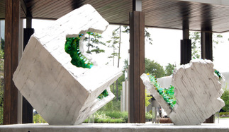 Christopher Owen Nelson is the newest National Sculptors' Guild member, providing some incredible solutions for upcoming public art placements. Geode