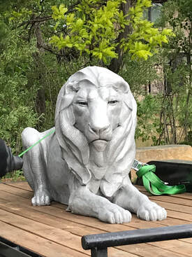 Update 6/7/19: The site is ready and so is the Lion. He is on the trailer in Colorado ready to head to Arkansas to be installed at the Little Rock Zoo entry roundabout with the two lioness sculptures.