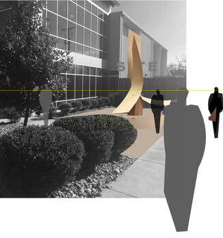 Kathleen Caricof and the National Sculptors' Guild have won the 2020 Sculpture at the River Market Public Monument commission. Synergy will be installed in spring 2021 near the entrance of the West Central Community Center, Little Rock, AR. ​