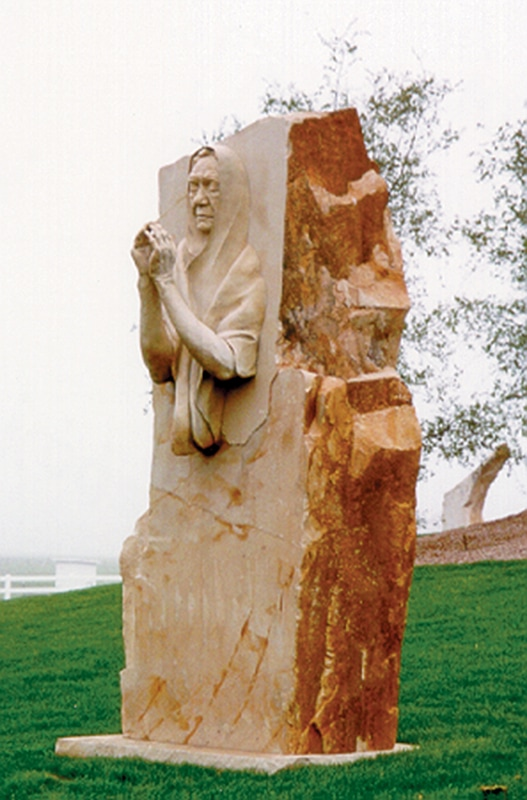 Council of Catholic Women in Denver are contributing a sculpture,